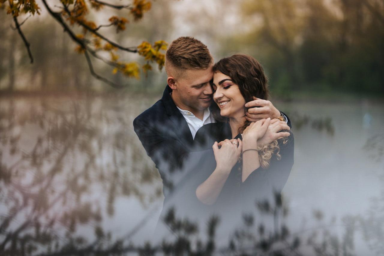 023 Narzeczenska sesja wiosenna fotograf slubny tarnow