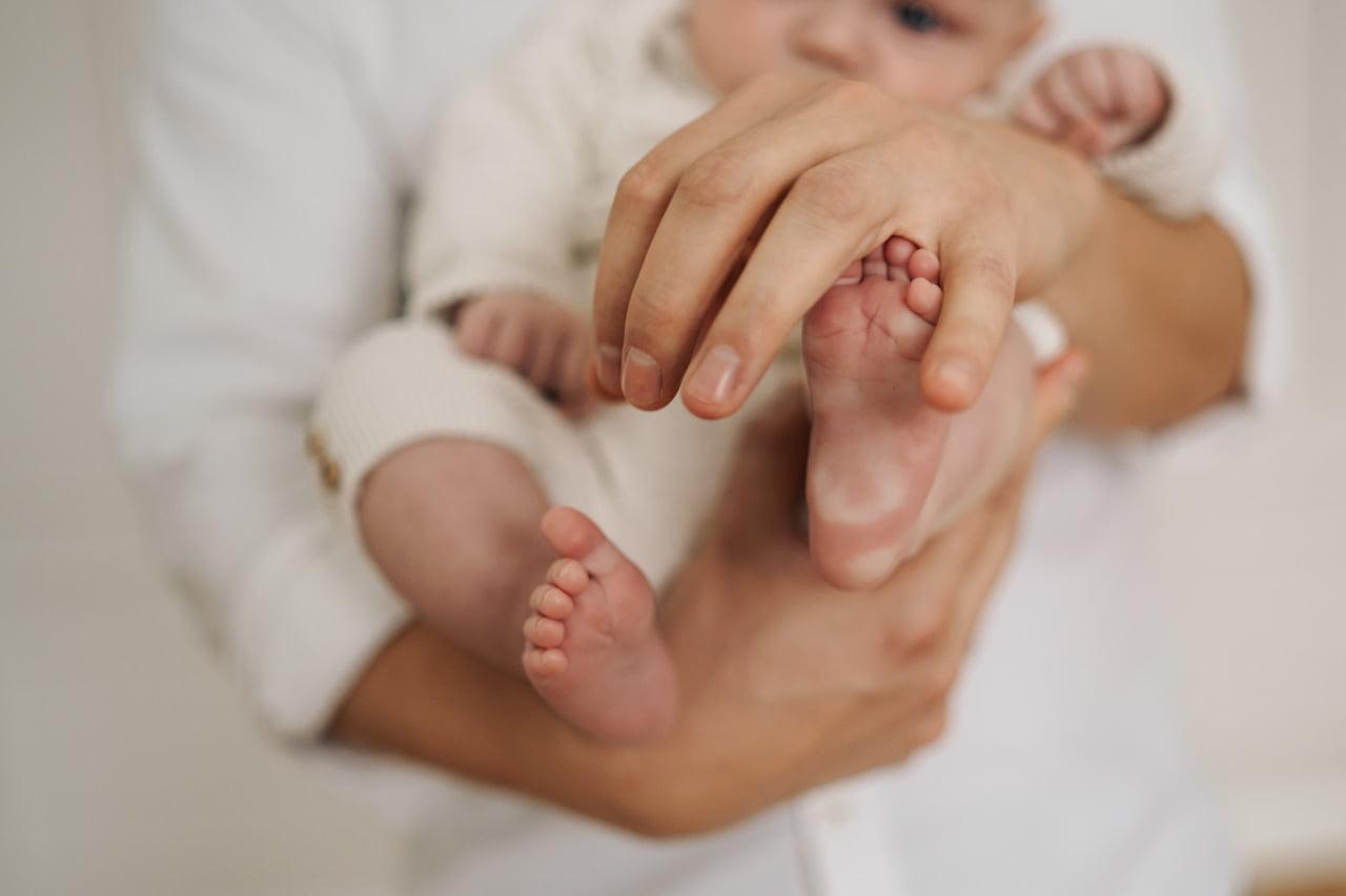 sesja niemowlęca wdomu